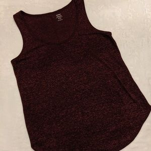 Relaxed space dyed tank